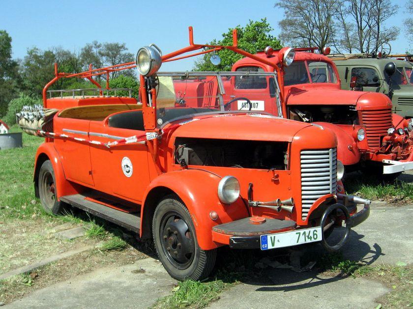 Praga A150 Fire Brigade