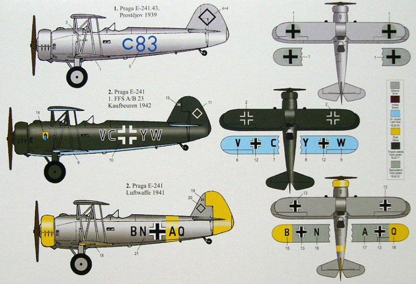 Praga aircrafts 0182233