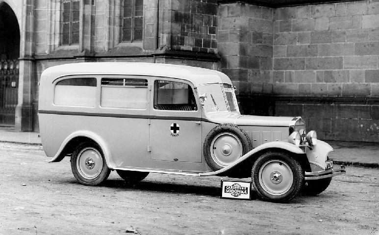 Praga Mignon Ambulance