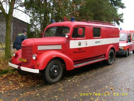 Praga RN firebrigade bus