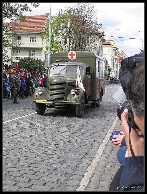 Praga RN in parade
