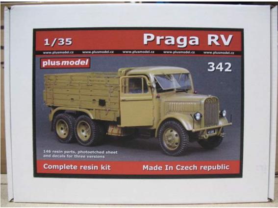 Praga RV model