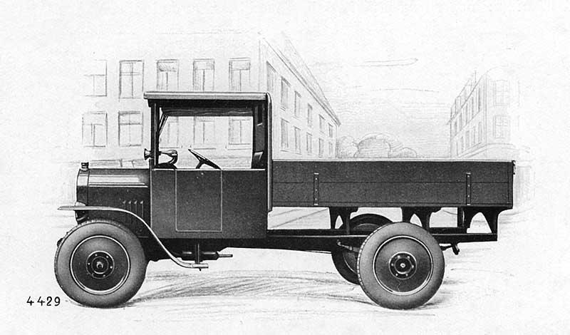 Praga typ AN 20 HP obr1