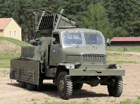 Praga V3S 130mm raketomet vz.51 c