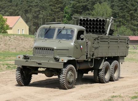 Praga V3S 130mm raketomet vz.51 d