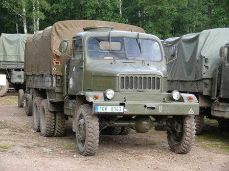 Praga V3S 130mm raketomet vz.51 g