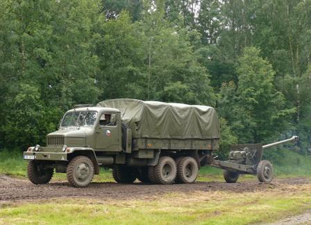 Praga V3S 130mm raketomet vz.51 i