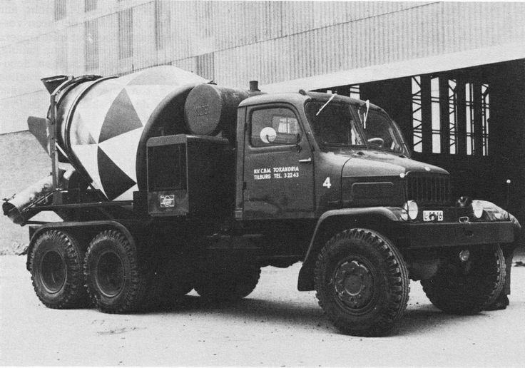 Praga V3S Concrete mixer