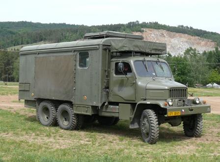 Praga V3S skříňová provedení a