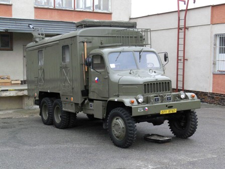 Praga V3S skříňová provedení j