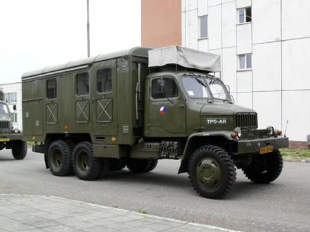 Praga V3S skříňová provedení k