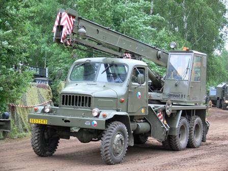 Praga V3S vojenské provedení