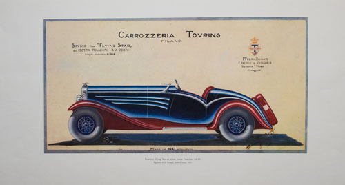 Roadster Flying Star Isotta Fraschini