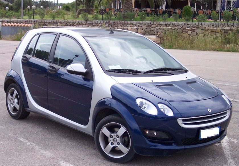 Smart ForFour bluesilver vr