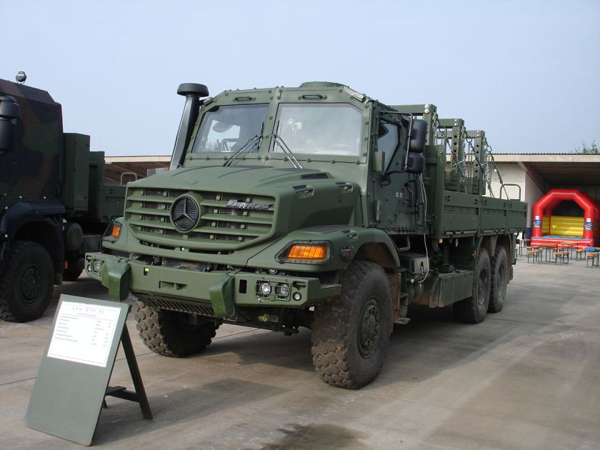 Zetros 2733 of the German Army