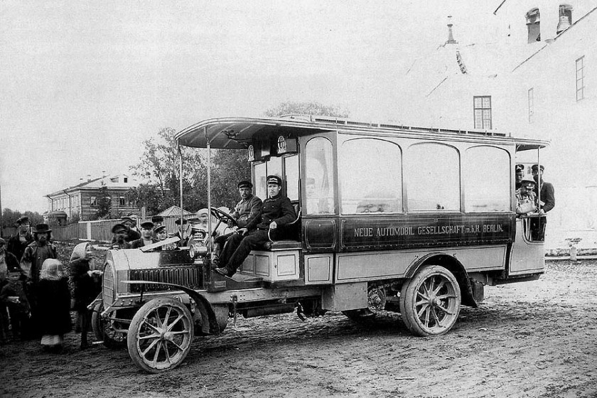 1907 N.A.G. Typ B 20-24PS (30-32PS) Bus in Arkhangelsk