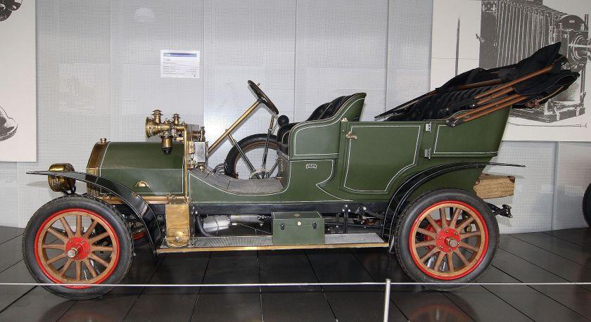 1908 NAG car
