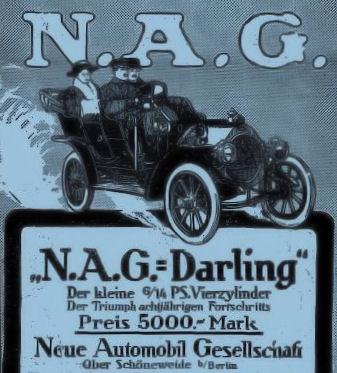 1910 Werbung für den Darling
