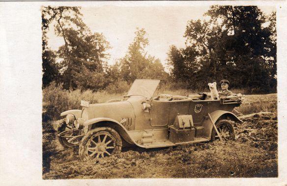 1912-14 NAG Typ K8 33-75 PS, aufgenommen im 1. Weltkrieg