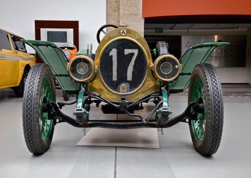 1913 NAG Rennsportwagen.