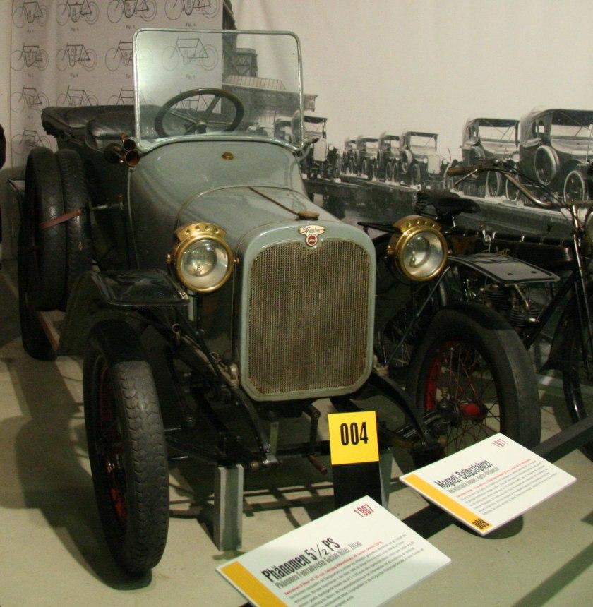 1913 Wanderer W3 5-12