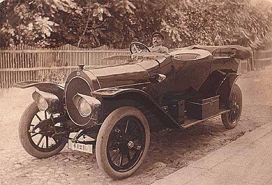 1914 NAG Tulip Bodied Open Tourer