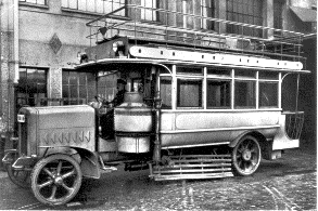 1922 Büssing Sauggaswage
