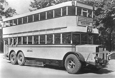 1927 Büssing D 3  Büssing