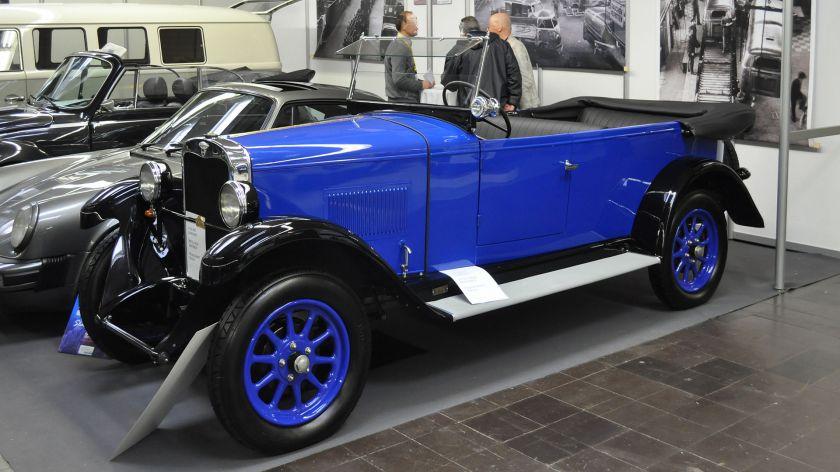 1927 Wanderer W10-I 1