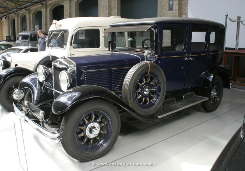 1928 nag protos 12 60ps typ 6p 4door sedan