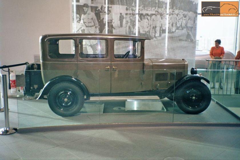 1928 Wanderer W 10 8-40 PS Limousine (1)