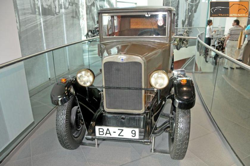1928 Wanderer W 10 8-40 PS Limousine(3) (1)
