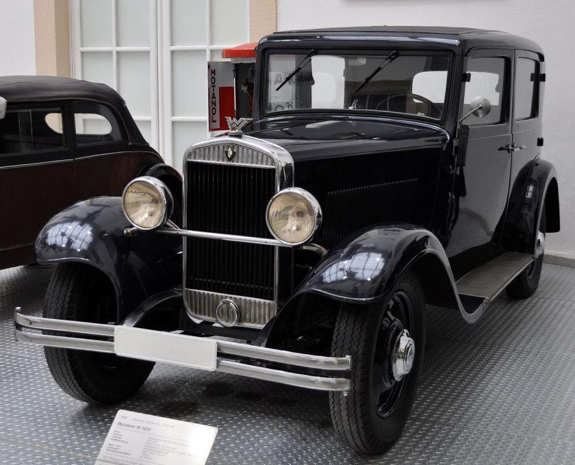 1929 Wanderer W10-IV 6-30PS