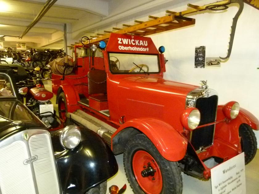 1929 Wanderer W11 Feuerwehrfahrzeug 1