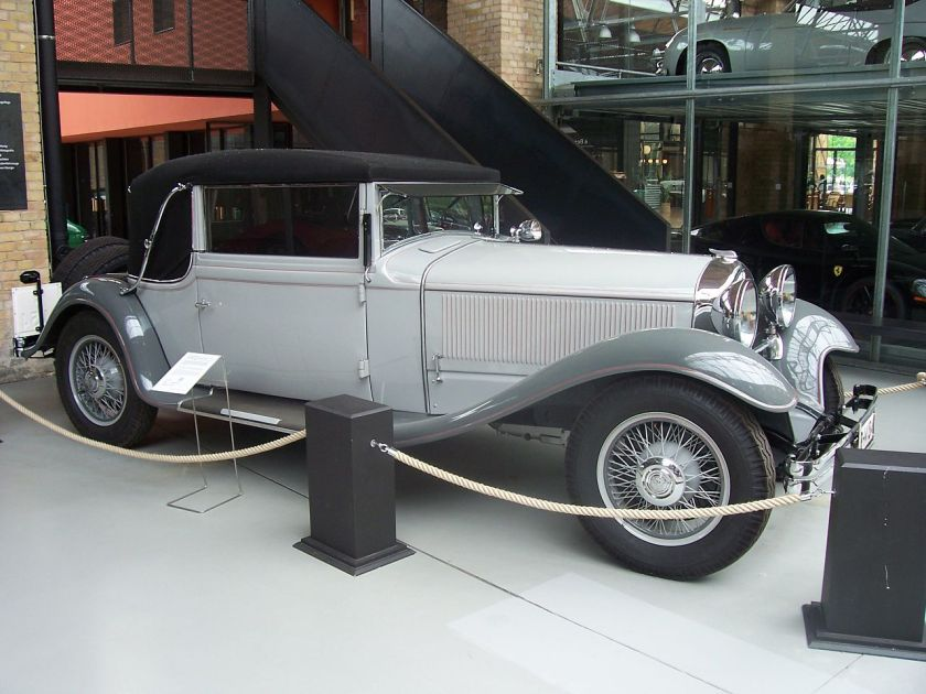 1930 N.A.G.-Protos Typ 204 14-70PS Cabriolet Drauz