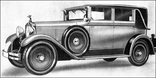 1930 nag 201 limousine