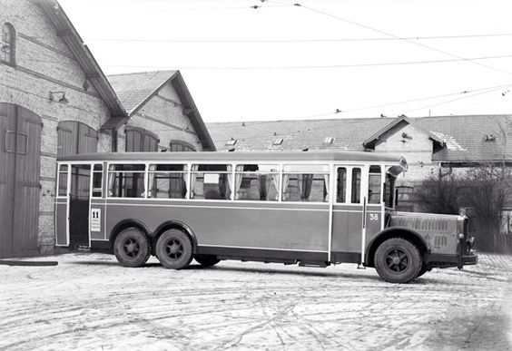 1931 Scandia bus KS 38 with Büssing-NAG chassis (1931) in Copenhagen 1