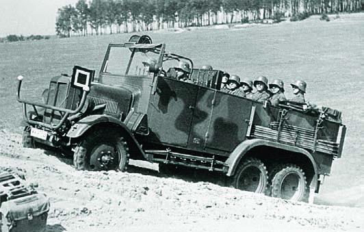 1932 bussing NAG G31 6x6