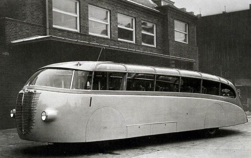 1935 Büssing NAG 375T Aerodynamische Autobahnbus