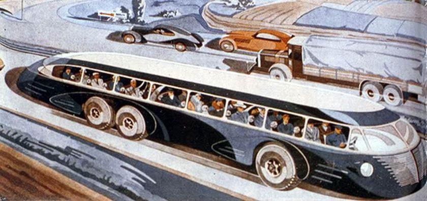 1935 Büssing–NAG Bi-motor concept art