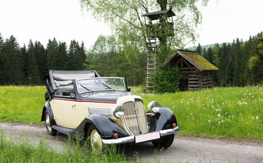 1936-38 Wanderer W45 C2b Cabriolet