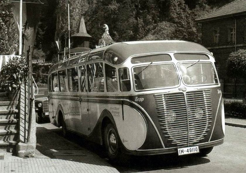 1936 büssing-Baydekarte