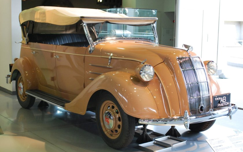 1936 Model AB Phaeton Convertible