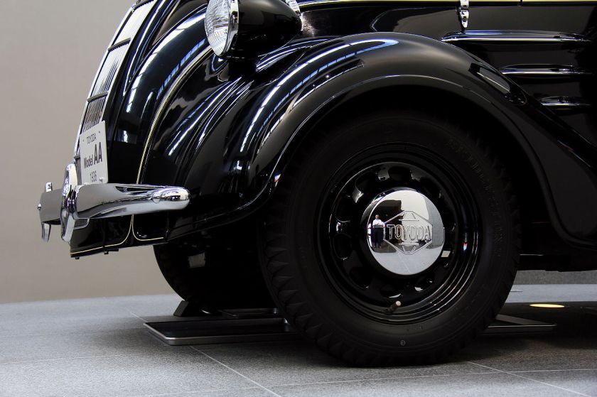 1936 Toyota AA Hubcap