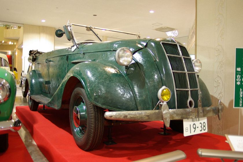 1936 Toyota Model ABR