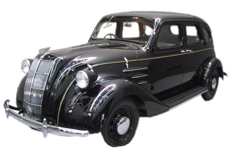 1936 Toyota Modell AA, das erste Toyota-Automodell, 1936