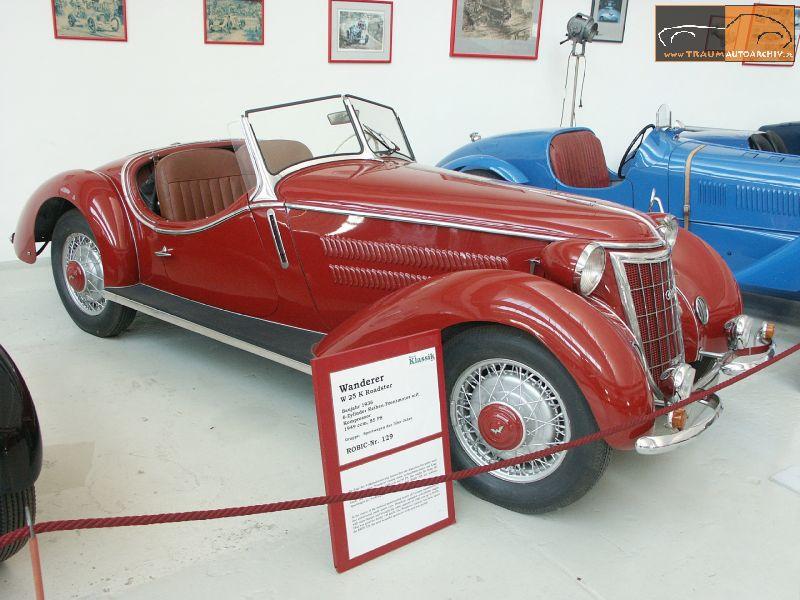 1936 Wanderer W 25 K Roadster (1)