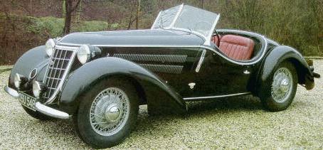 1936 Wanderer W25K