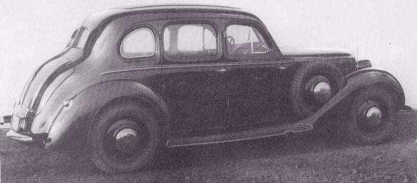 1936 Wanderer W51 limo
