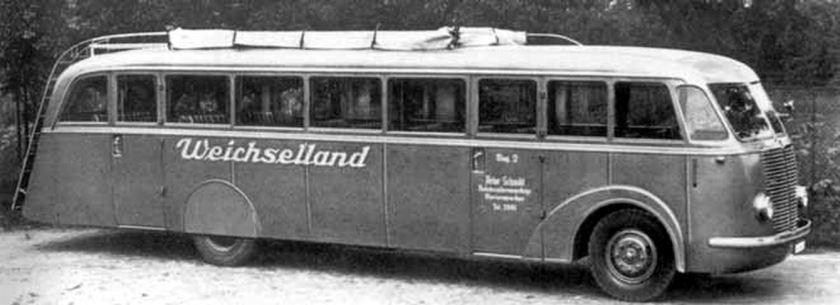 1937 Büssing-NAG Tipo 400T,